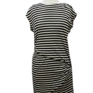 Kenneth Cole Striped T-shirt Dress